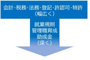 阪の社会保険労務士_T型の能力開発
